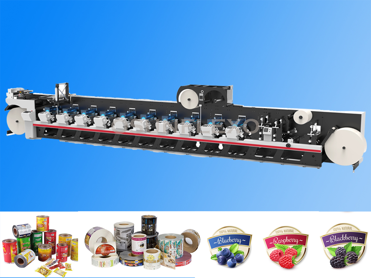Label & Film Printing Press-Osum is the professional manufacturers of Printing and packaging machinery in China.