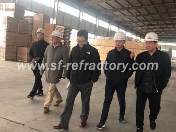 客户访问-郑州四方耐火材料有限公司新闻中心